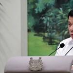 Duterte szerint egyetlen bűne van: ítélet nélkül öletett embereket