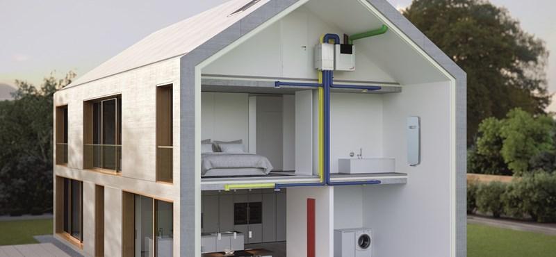 Így néz ki egy közel nulla energiaigényű épület