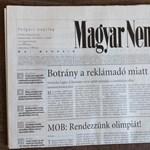 Mit kíván Harrach Péter a Magyar Nemzettől?