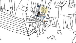 Marabu Féknyúz: Hol láthat az ember HVG-címlapot?