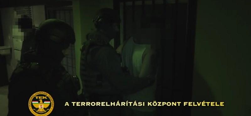 Videó is van már a Magyar Nemzeti Arcvonal elleni újabb razziáról