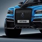 Sportterepjáró készült a Putyin-féle orosz luxusautóból