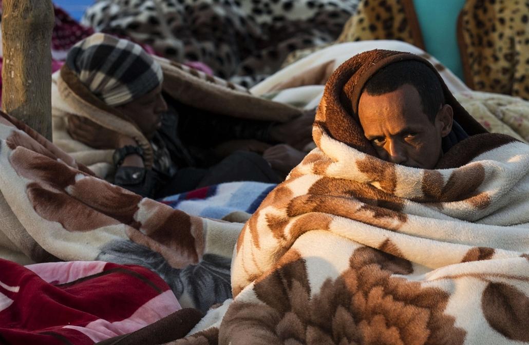 afp. hét képei - Izrael, Tel Aviv, afrikai menedékkérők
