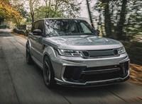 Range Rovert tuningolni többek között ezért a végeredményért egészen hálás feladat