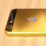Itt megnézheti az arany iPhone 6-ot