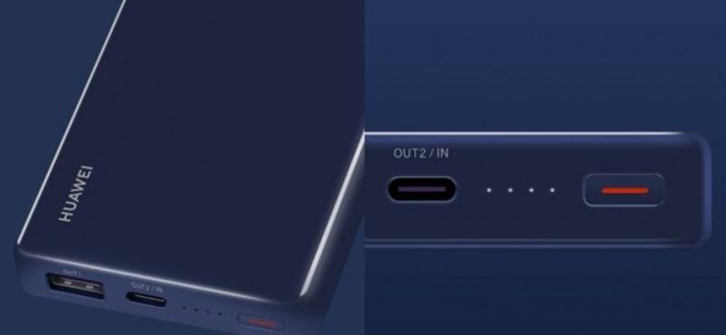Itt a Huawei külső akkumulátora, ami villámgyorsan feltölti a P30 Prót