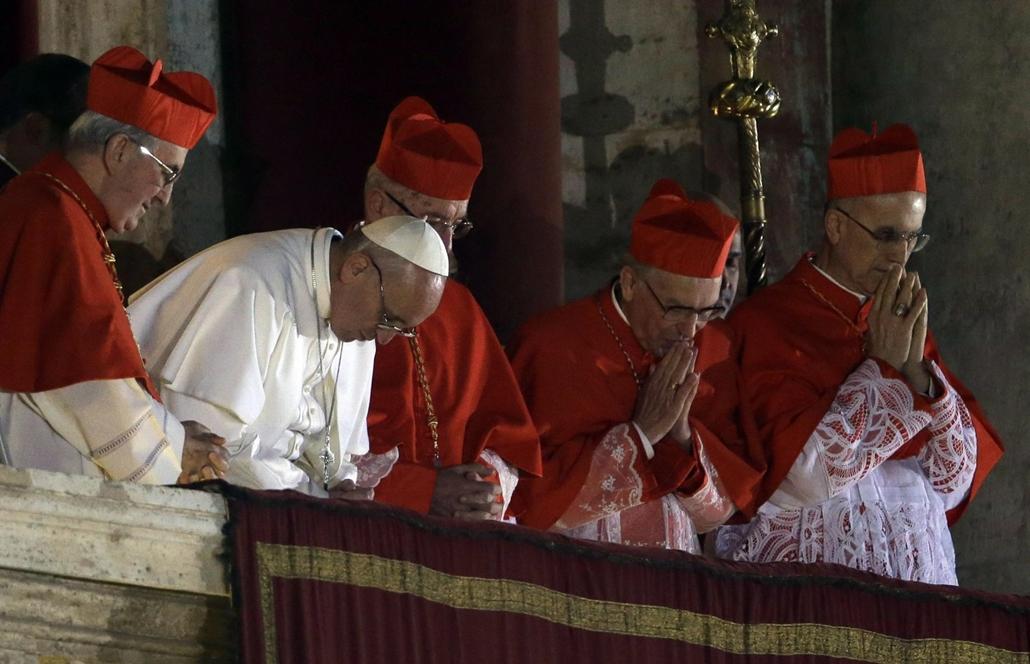 I. Ferenc - pápaválasztás - pavalko - pavalarc