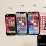 Megmérték, meddig bírja az új iPhone SE akkumulátora az Apple többi telefonjához képest