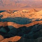 A Death Valley a Föld legszárazabb pontja, most mégis tó hullámzik benne