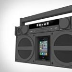 iPhone boombox a kazettás magnók szerelmeseinek