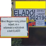 """Eladó ez a bolt – és nem csak azért, mert """"Magyarország jobban teljesít"""""""