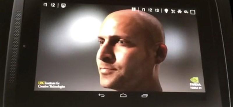 Videón a mobilokba érkező élethű grafika