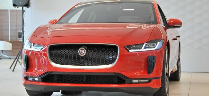 Itthon is bemutatkozott a villanymacska, a 30 milliós Jaguar I-Pace