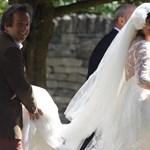 Milyen volt Lily Allen esküvői ruhája? - fotó, videó