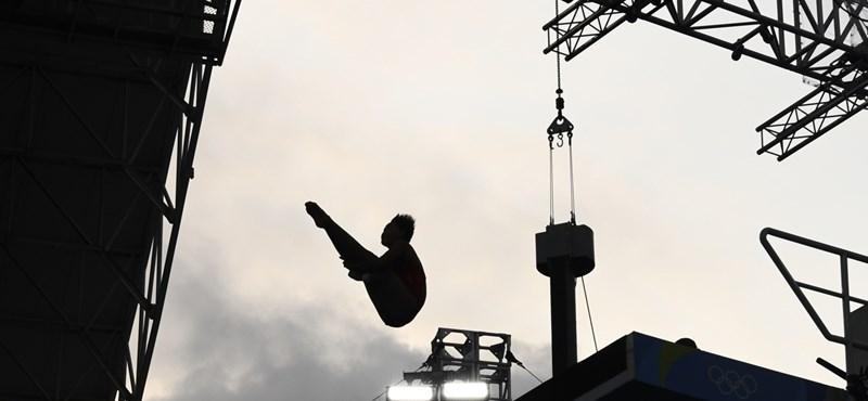 Szinte még gyerek a női toronyugrás olimpiai bajnoka