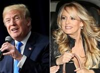 Elvesztette a becsületsértési pert Trump ügyvédje ellen az egykori pornócsillag