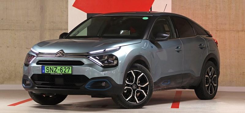 Hangtalan varázsszőnyeg: kipróbáltuk a teljesen új elektromos Citroën ë-C4-et