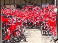 Több ezer kerékpárt semmisített meg az Uber