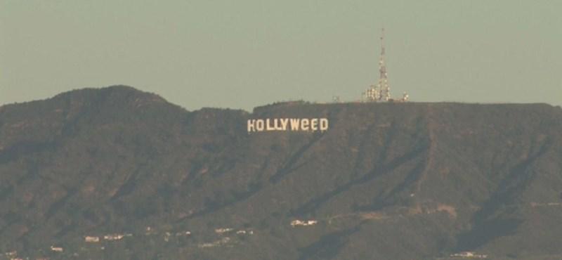 Hollyweed: felfedte magát a híres feliratot meghekkelő művész