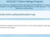 Leállt az Otthon Melege program weboldala, szerdára halasztják a pályázatbeadást