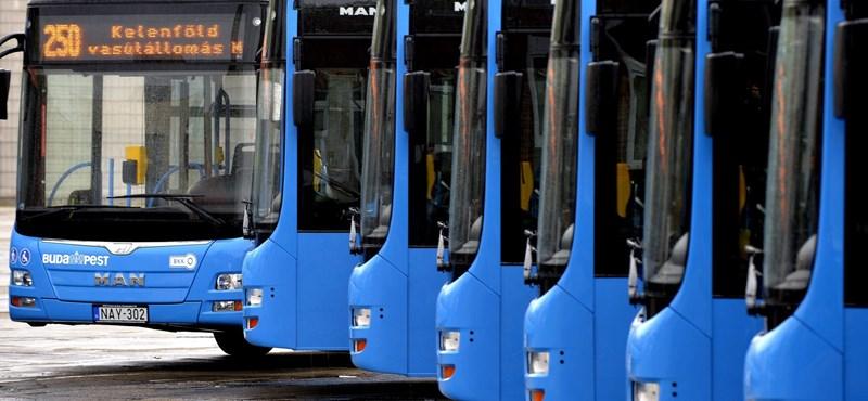 Keresi a BKV a 45,3 fokos fülkét lefotózó buszsofőrt