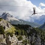 Kötéltánc több ezer méteren – Nagyítás-fotógaléria