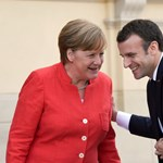 Napi cukiság: Európa két legerősebb politikusa barátkozik
