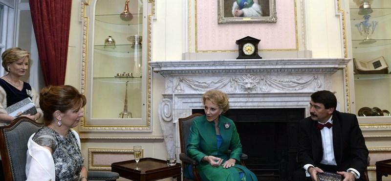 Áder Londonban találkozott Mária Krisztina Annával