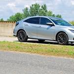 A szükséges (egy henger) plusz – teszten a Honda Civic Sport Plus