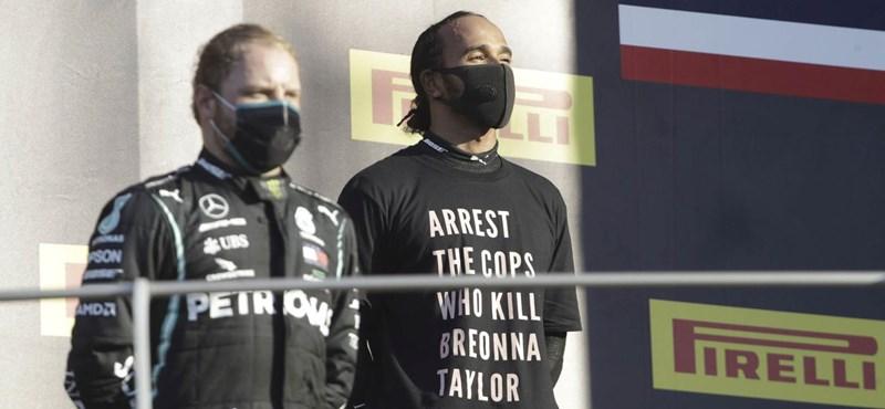 Vizsgálják Hamiltont a pólója miatt