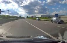 Két autós is a forgalommal szemben hajtott fel az M1-esre