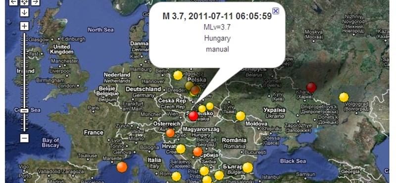 Földrengés volt Magyarországon, Budapesten is érezni lehetett