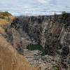 Itt a vége: kiszáradt a Viktória-vízesés