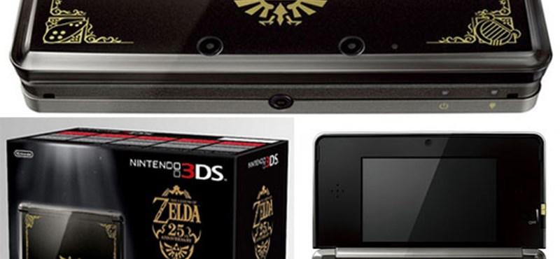 Fekete-arany konzollal és Zeldával ünnepli a Nintendo 25. születésnapját