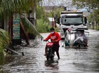 Halálos áldozatai is vannak a Fülöp-szigeteken végégsöprő tájfunnak