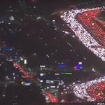 Minden közlekedési dugók ősanyját hozták össze Los Angelesben