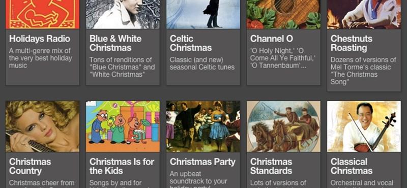 Ezeket hallgassa: 50 rádió, ahol csak karácsonyi zene szól