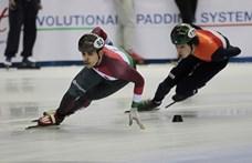 A járókelők hívtak orvost a rollerrel balesetező olimpiai bajnok gyorskorcsolyázóhoz