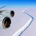 """Emlékszik az Antarktiszról leszakadt 1 billió (!) tonnás jéghegyre? Most úgy tűnik, hogy """"lehorgonyzott"""""""