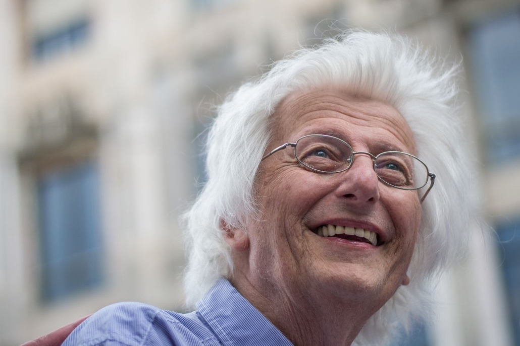hvgbestof2016 - ae - Esterházy Péter a 87. Ünnepi könyvhét megnyitóján.  hvgbestof2016, nagyítás