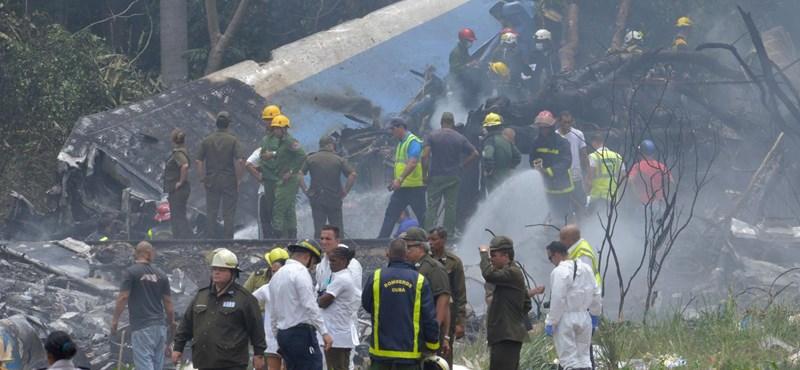 Kubai volt a Havanna közelében lezuhant gépen utazók többsége
