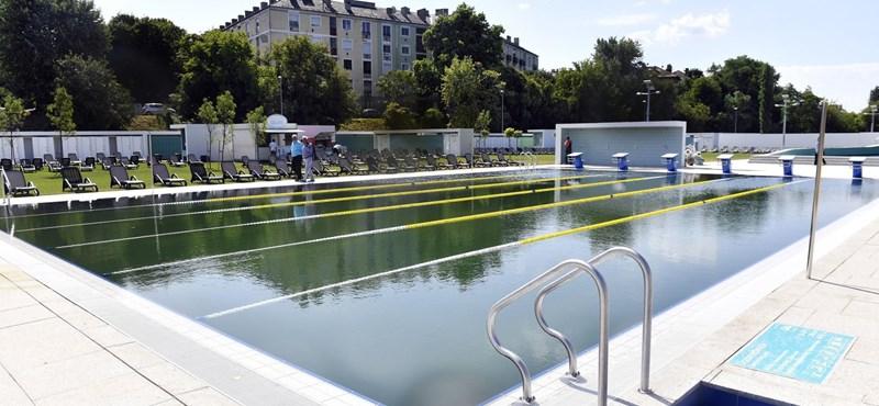 Különleges strandfürdő nyílt meg újra Budapesten