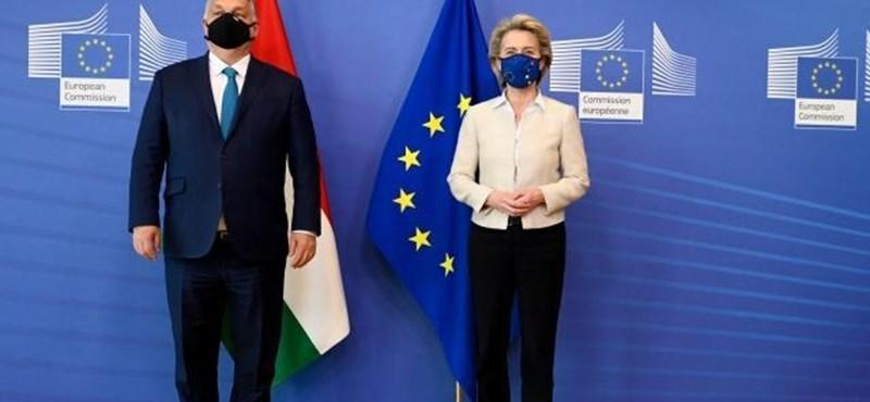 Jogállamiságról is tárgyalt Orbán és Von der Leyen