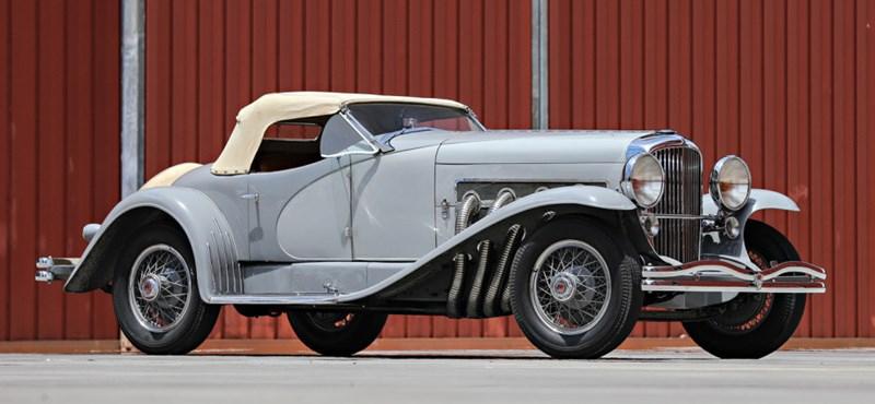 Összesen két embernek volt ilyen autója, Gary Coopernek és Clark Gable-nek