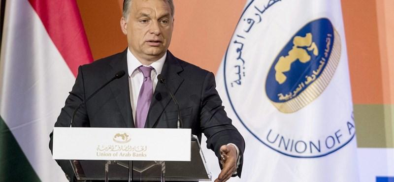 Orbán arcátlanul nagyot vetít az arab befektetők előtt