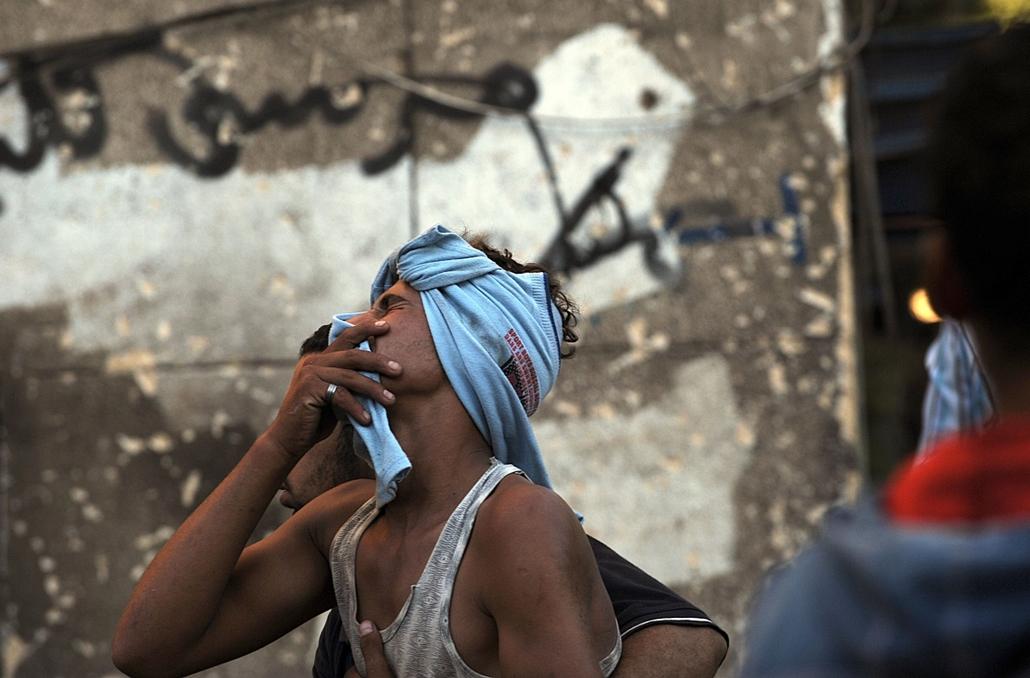 kairó, Egyiptom, demonstráció, tüntetés, összecsapások, Mohamed Mursi, tahrir tér 2013.07.22.