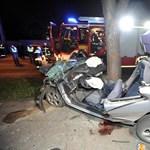 Fának csapódott autójával és azonnal meghalt
