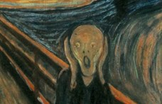"""""""Csak egy őrült festhette"""" – írta rá a Sikolyra maga Edvard Munch"""