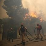 """Görög tűzvész: """"Menekülésre gondolni sem lehetett, két perc alatt lángokban állt a házam"""""""