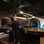 Felhajtás nélkül adták át a 3 millió eurós Lamborghinit – fotó